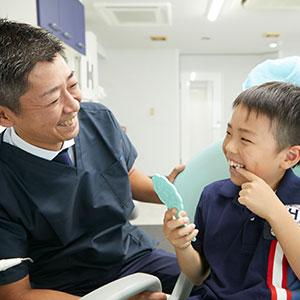 歯を削らない低侵襲治療